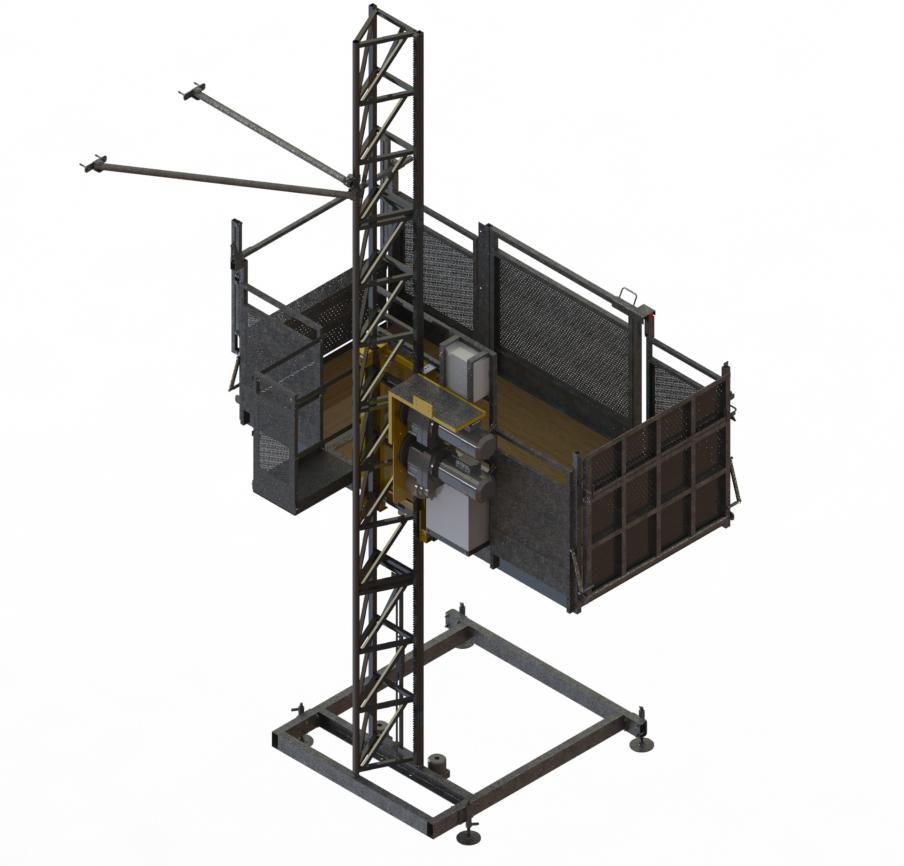 PH10-15 modulare con KIT para obtener un cesta mas ancha con la misma maquina base