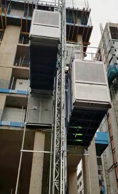 ascensor de obra E30